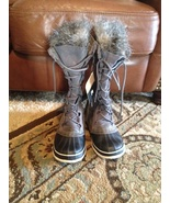 NWT Sorel Cate the Great pewter boots 9 - $85.00