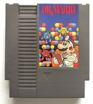 ☆ Dr. Mario (Nintendo System 1990) AUTHENTIC NES Game Cart Tested Works ☆ - $7.43