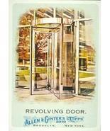 Revolving Door trading card (Invention, Theophilus Van Kannel) 2010 Topp... - $3.00