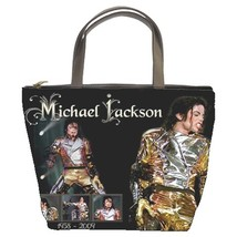 MJ Michael Jackson Custom Bucket Bag/Handbag (2 sided)-NEW - $27.00