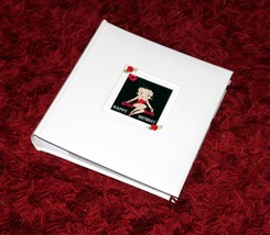 "Betty Boop Birthday  Leather  Album + memo slip in pages fit 6""x 4""  #8 - $37.86"