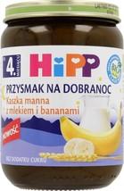 HiPP ORGANIC Milk Porridge with bananas -1 jar- from the 4th month - $6.92