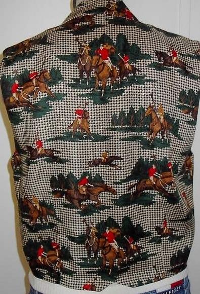 Polo Pony Western Horse Show Hobby Rail Halter Vest 8