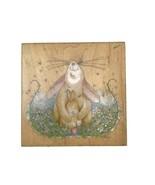 Rubber Stamps Happen 70010 Proud Mother Rabbit Linda Grayson Baby Bunny ... - $8.63