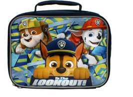 Paw Patrol Alpha Pups 2 Rubble Marshall and Chase lunch box Fast FREE shipping - $34.99