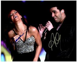 DRAKE & RIHANNA Authentic Autographed Signed Photo w/COA   #1050 - $85.00