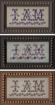 I Am MBT075 cross stitch chart My Big Toe Designs - $8.00