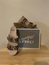 Dansko Sophie Suede Leopard Size 6.5-7US Women's (37EU)  - $40.00