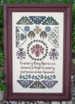 Quaker Seasons MBT076 cross stitch chart My Big Toe Designs - $12.00