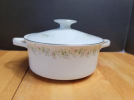 Johann Haviland Forever Spring Covered Vegetable Dish White Multi-Color ... - $12.82