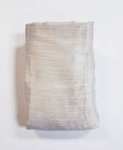 "Threshold Beige Linen One Room Darkening Lined Curtain Panel Drape 50"" x... - $28.69"
