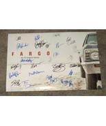 Fargo TV Series 25x Cast Signed Photo COA Martin Freeman Bob Odenkirk Te... - $499.99
