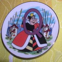 Disney Queen of Hearts Porcelain WDP Japan plate - $15.99