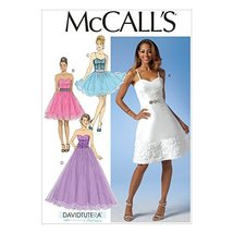 McCall Pattern Company M7049 Misses' Dresses Sewing Template, E5 (14-16-18-20-22 - $14.21