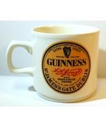 Guinness Extra Stout Bier Kaffeetasse Tasse St.James Dublin - £14.94 GBP