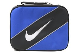 Nike Contrast Insulated Reflective Game Royal Tote Lunch Bag - $19.74