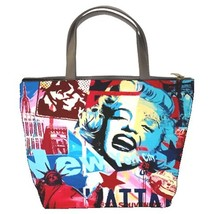 Marilyn Monroe Custom Bucket Bag/Handbags (2 sided) - $27.00