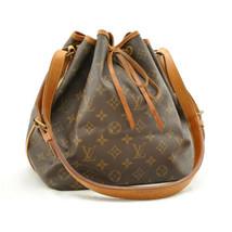 LOUIS VUITTON Monogram Petit Noe Shoulder Bag M42226 LV Auth 8773 - $360.00
