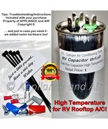 Dometic Duo Therm 3100248.586 Run Capacitor 45+5 MFD RV Camper Air Cond.... - $23.95