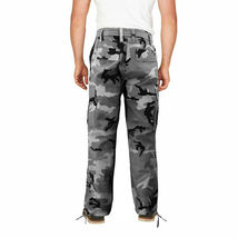 Men's Camo Military Tactical Work Combat Army Slim Fit Twill Cargo Pants image 9