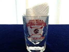 South Carolina Gamecocks 2010 NCAA National Champions Shot Glass, New - $4.50