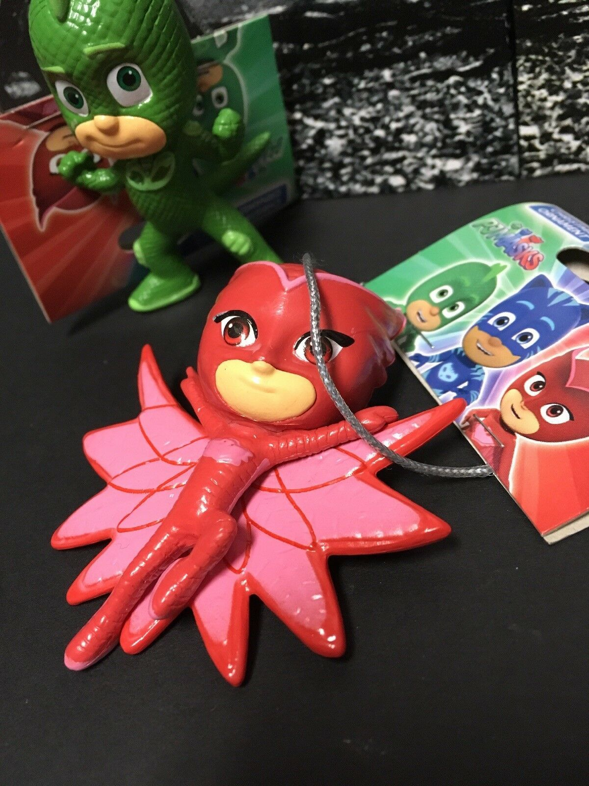 New PJ MASKS Christmas Ornaments Set of 3 Owlette Gekko Catboy by Kurt Adler