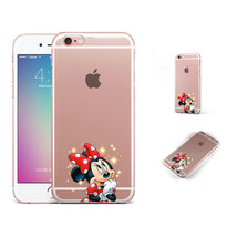 Disney Cartoon Mouse Minnie Lovely Phone Case Cover For iPhone Samsung L... - $16.00