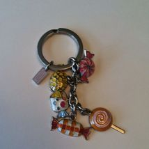 Adorable Coach Multi Sweet Candy Charms Key Chain Key Ring FOB F92096 new - $47.99