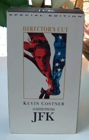 JFK Director's Cut VHS Set