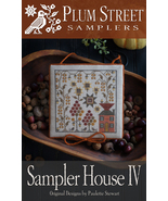 Sampler House IV cross stitch chart Plum Street Samplers  - $10.80
