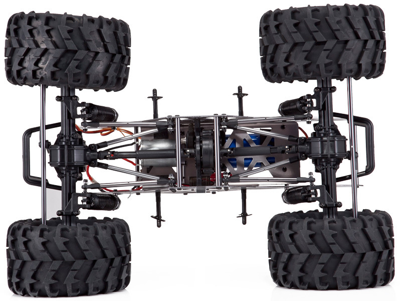 REDCAT RACING AMSOIL GROUND POUNDER 4X4 MONSTER TRUCK 4 WHEEL STEERING 2.4GHZ