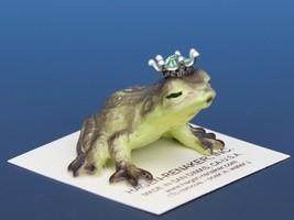 Birthstone Frog Prince Kissing August Peridot Miniatures by Hagen-Renaker image 2