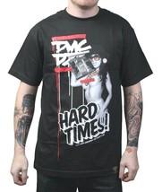 Dissizit! x DMC Mens Black Hard Times Official Run DMC Collaboration T-Shirt NWT image 1
