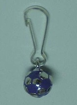 Soccer Ball Zipper Pull Blue - 4pc/pack - $11.99