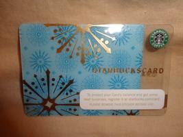 Starbucks Card Snowflake 2006 Christmas Gift Card - $4.89