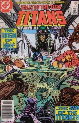 Primary image for TALES OF THE TEEN TITANS #70, October 1986 [Comic] [Jan 01, 1986] MARV WOLFMAN,