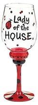 Burton & Burton Lady of the House Ladybug Wine Glass - $16.98