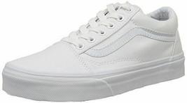 Original Vans Old Skool VN000D3HW00 True White Canvas Casual MEN - $79.43 CAD