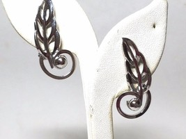 Barclay Vintage Silver Tone Clip On Earrings - $26.99