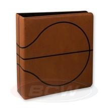 Case (6) BCW 3 In. Alben - Basketball Sammler Album - Premium - Braun - $84.39