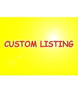 Custom Listing For Yvette - $20.70