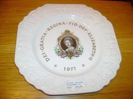 Nelson England Queen Elizabeth Silver Jubilee Plate - £13.38 GBP