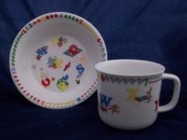 Lenox China Teacher's Pet Child's Alphabet Animal Fruit Cereal Bowl or C... - $14.99