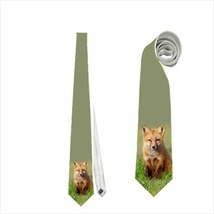 Necktie fox tie - $22.00
