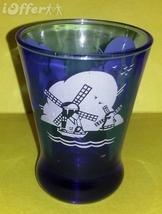 DEPRESSION GLASS- HAZEL ATLAS RITZ BLUE WINDMILL HEAVY BOTTOM SIDE WHISK... - $27.45
