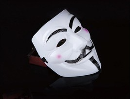 V Masquerade Masks - Guy Fawkes - Vendetta, Anonymous Halloween 2017 - $9.99
