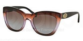 Coach Women's L134 Sunglasses (HC8151) Acetate brown purple gradient in ... - $83.00