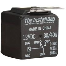 Install Bay(R) RL3040 30-Amp/40-Amp Economy Relay - $19.71