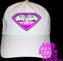 MJ Jordan Pink Gray and White Dad Hat Custom Printed and Design baseball... - $14.99