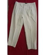 """Evergreen-Men's-Original Canvas Trouser-100% Cotton-Off White-Pants-40"""" ... - $14.84"""